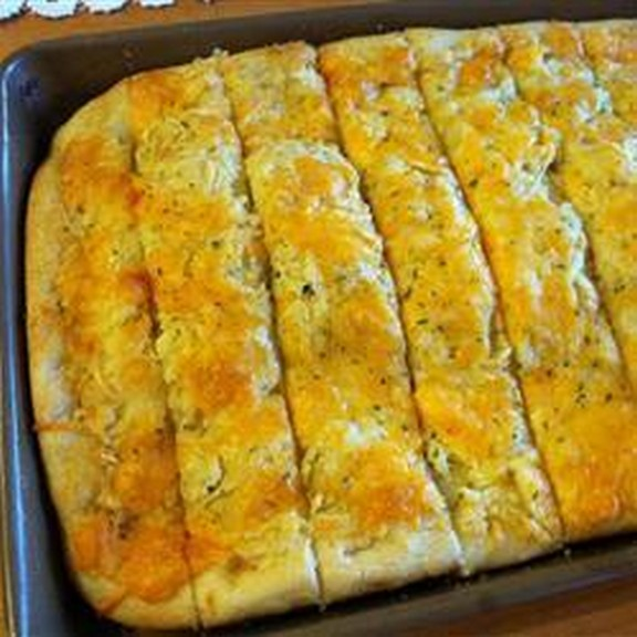 Garlic Cheese Flatbread recipe photo