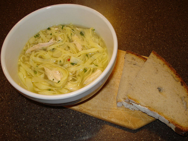 Italian Chicken Noodle Soup Recipe