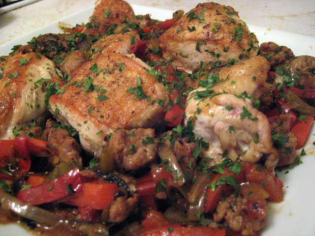 Italian Chicken Scarpariello Recipe