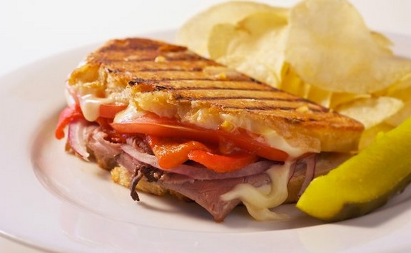 Italian Roast Beef Panini recipe photo