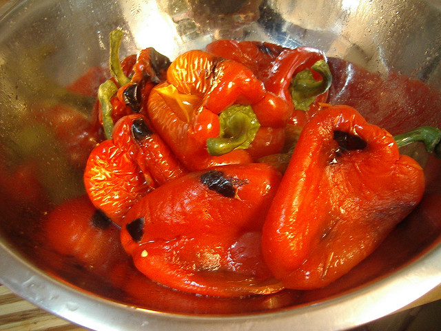 Italian Roasted Peppers Recipe