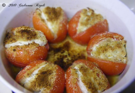 Italian Stuffed Tomatoes recipe photo