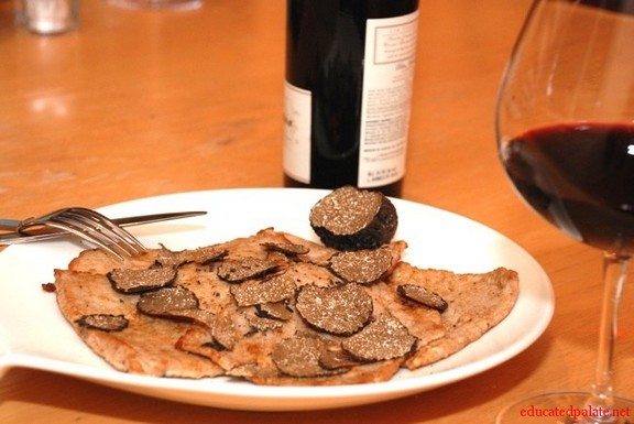 Veal Scalloppine with Truffles recipe photo