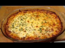 Beef and Noodle Casserole - Italian Pasta Bake - Recipe (VIDEO)