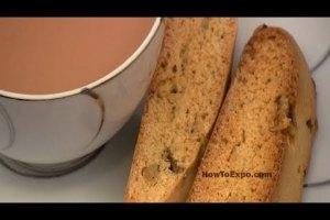 Biscotti Recipe (How To Make Italian Biscotti) (VIDEO)