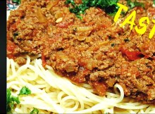 HOW TO MAKE SPAGHETTI BOLOGNESE - EASY ITALIAN RECIPE - RAGU RECIPE (VIDEO)