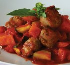 ITALIAN SAUSAGE CASSEROLE - Italian Sausages and Potatoes Recipe - Italian Food (VIDEO)