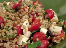 Italian Farro Salad Recipe (VIDEO)
