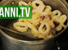 Italian Fried Calamari - Calamari Fritti, Italian Recipe (VIDEO)
