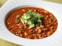 Italian Sausage Chili - Spicy Sausage & White Bean Chili Recipe (VIDEO)