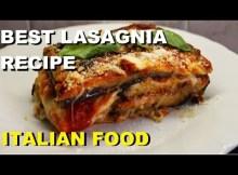 LASAGNA RECIPE PARMIGIANO EGGPLANT iTALIAN FOOD #lasagna #recipes #italianfood (VIDEO)