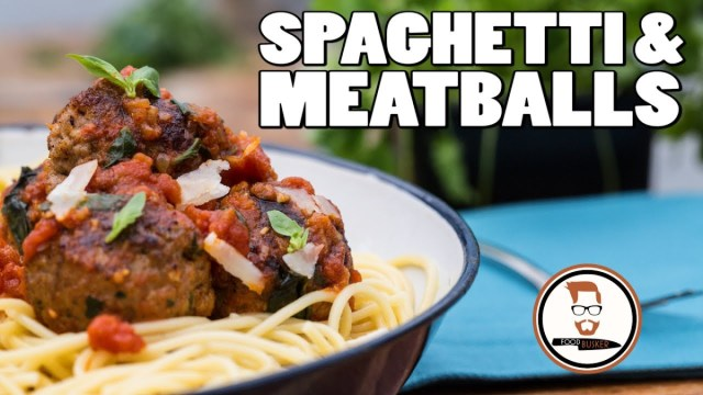 Meatballs and spaghetti recipe italian inspired tomato pasta meatballs and spaghetti recipe italian inspired tomato pasta video easy italian recipes forumfinder Choice Image