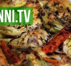 Pollo Oreganata - Chicken and Vegetables Roasted with Oregano, Italian Recipe (VIDEO)