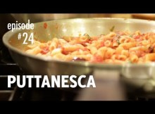 Puttanesca Recipe, Penne, Spaghetti, Pasta - How to Make the Authentic Classic Italian Dish (VIDEO)