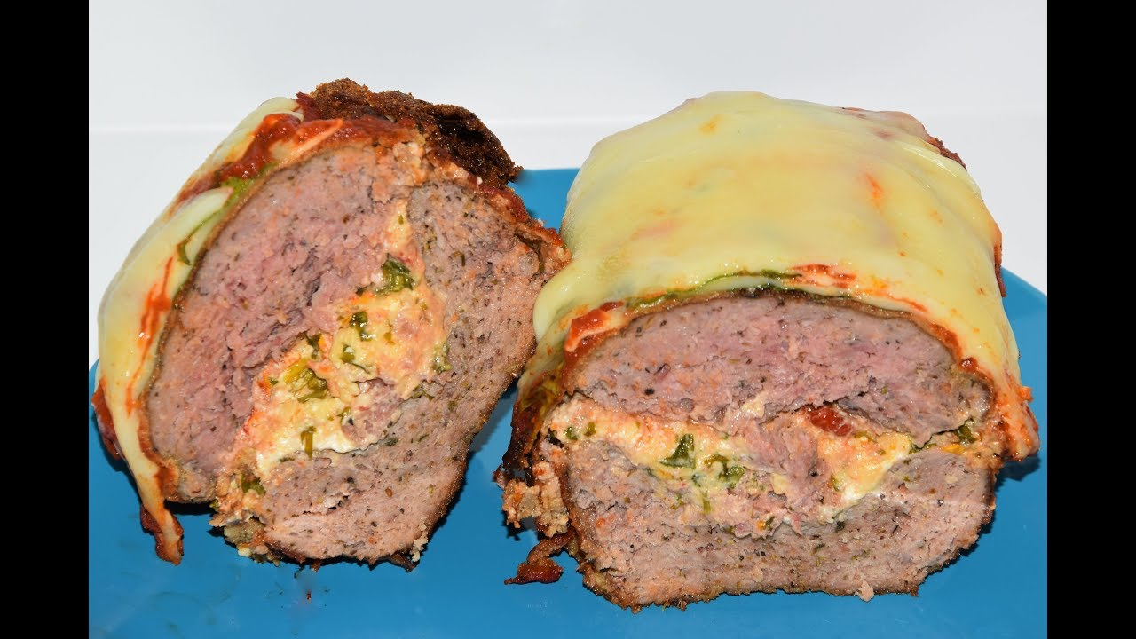 Meatloaf Recipe Easy – Italian Inspired Meatloaf Recipe – Fried Meat loaf (VIDEO)