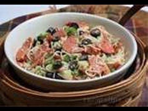 Cooking 101: Italian Pasta Salad (VIDEO)