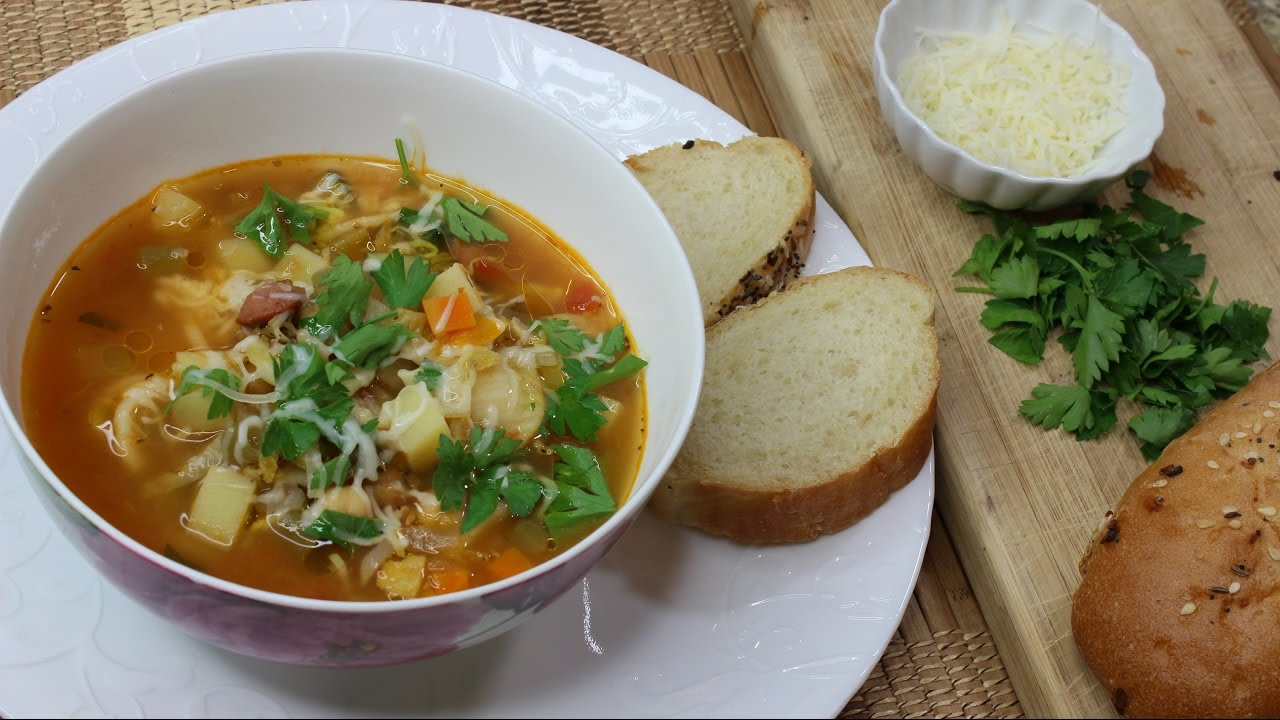 Minestrone Soup (VIDEO)