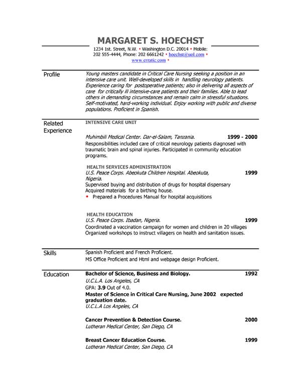 Wording For Resume. Teacher Resume Objective Examples Resume