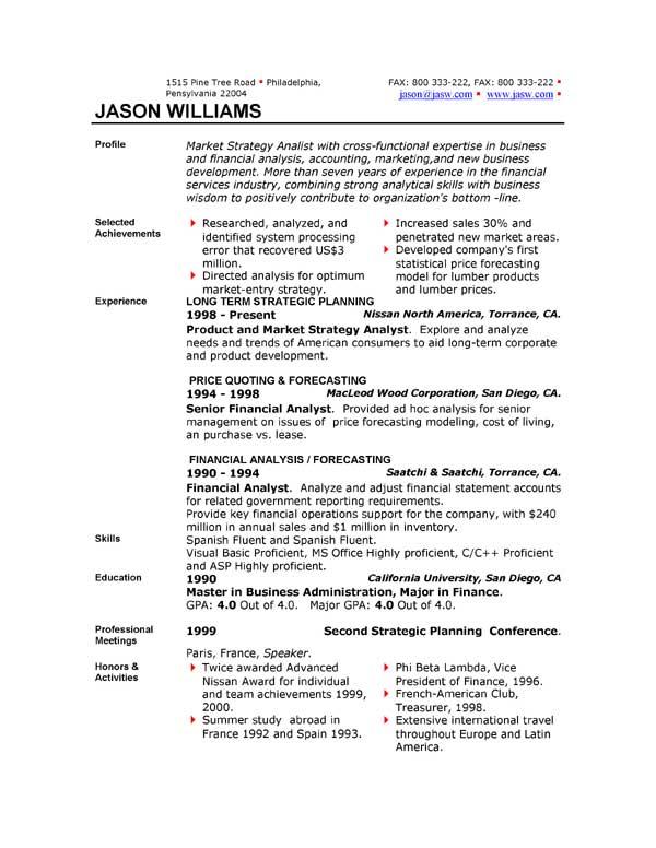 sample resume 85 free sample resumes by easyjob sample resume