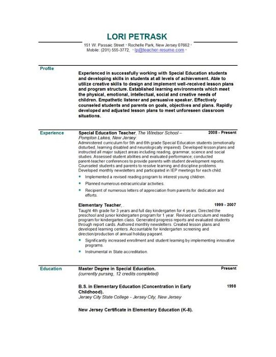 Sample Resume For High School History Teacher School Teacher Resume  Skylogic Teacher School Resume Charming Idea  History Teacher Resume
