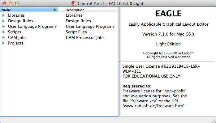 Eagle 7 2 0 license file | Downloading Eagle Pro