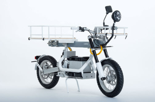 Cake Osa Electric Utility Motorcycle