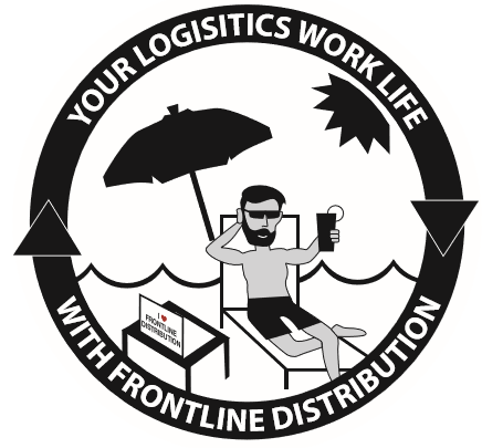 Your logistics Worklife with frontline distro graphic