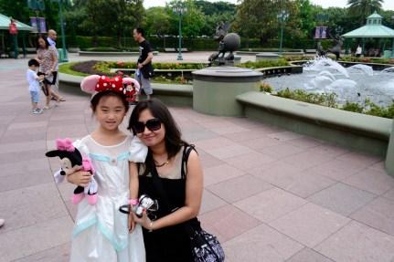 Me at Disneyland Park HK