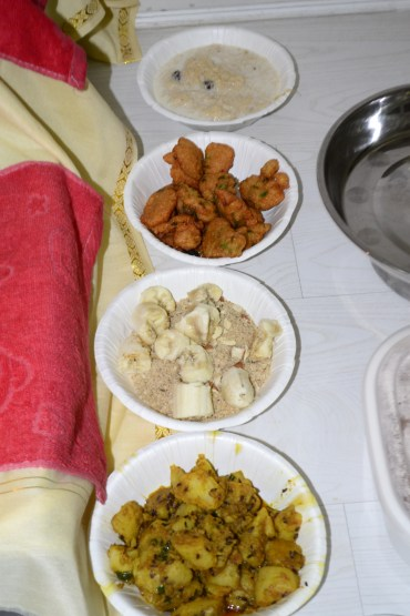 Janmashtmi Food Serve to the God and then Have by Devotees