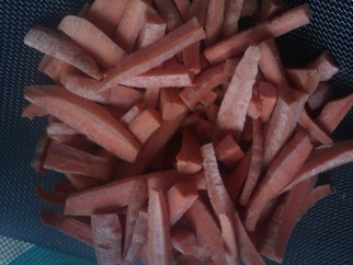 Dried Carrots
