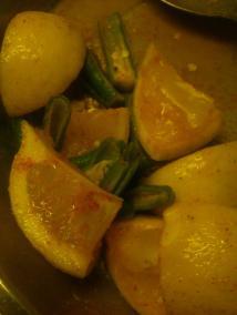 Lemon Green Chili Pickle
