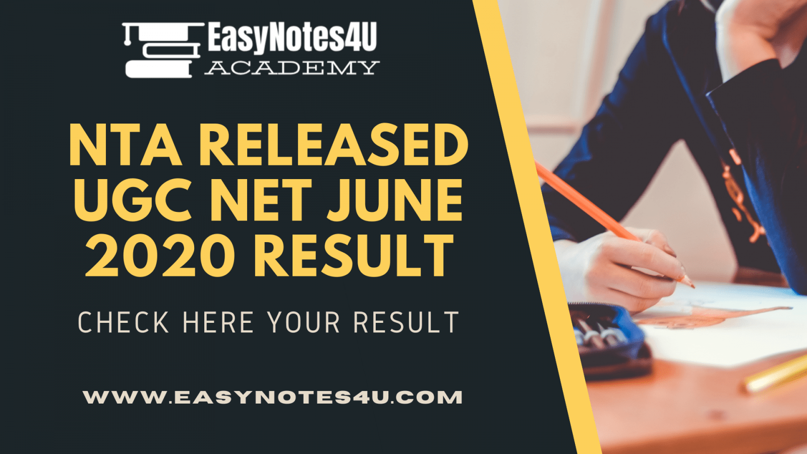 UGC NET June 2020 Result Released by NTA, check here