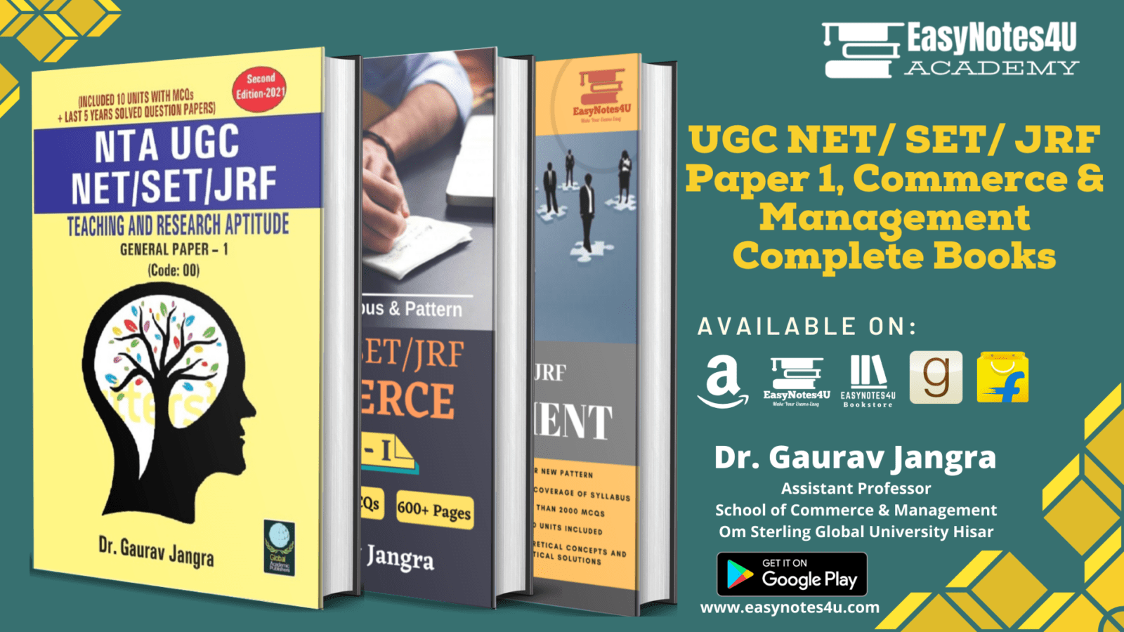 UGC NET Management eBooks Commerce, paper 1, Management Book, ebook, pdf notes and study material