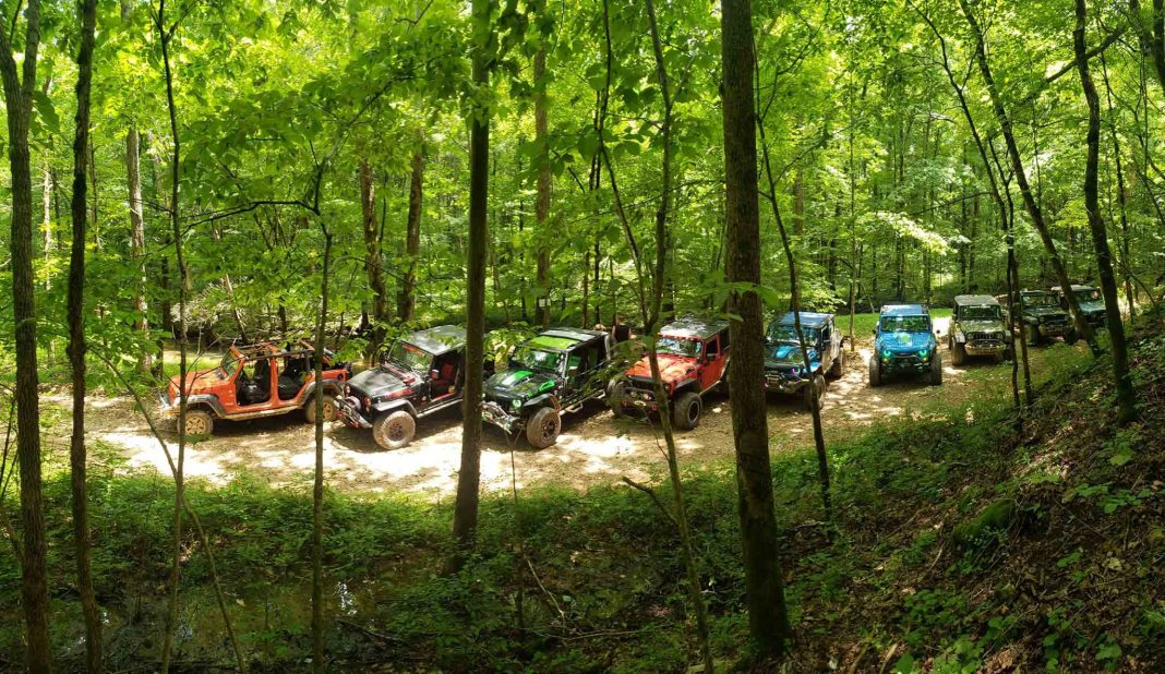 Trails in Tennessee