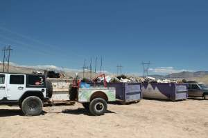 GMJC - Collects over 12 tons of trash in 4 hours-on Desert Clean up day