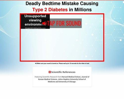 Deep Sleep Diabetes Remedy 1