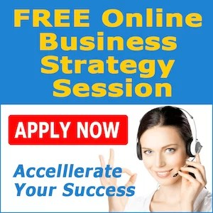 online business strategy sessions apply for banner