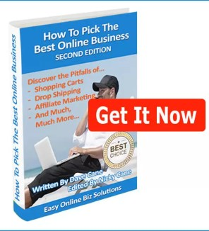 How to Pick the Best Online Business eBook 2nd Edition banner