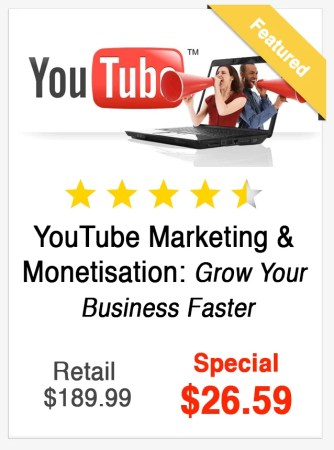 YouTube Marketing and Monetisation Course