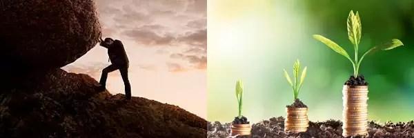 The Two Economies - Effort' Active & 'Passive' Value-Based Economy