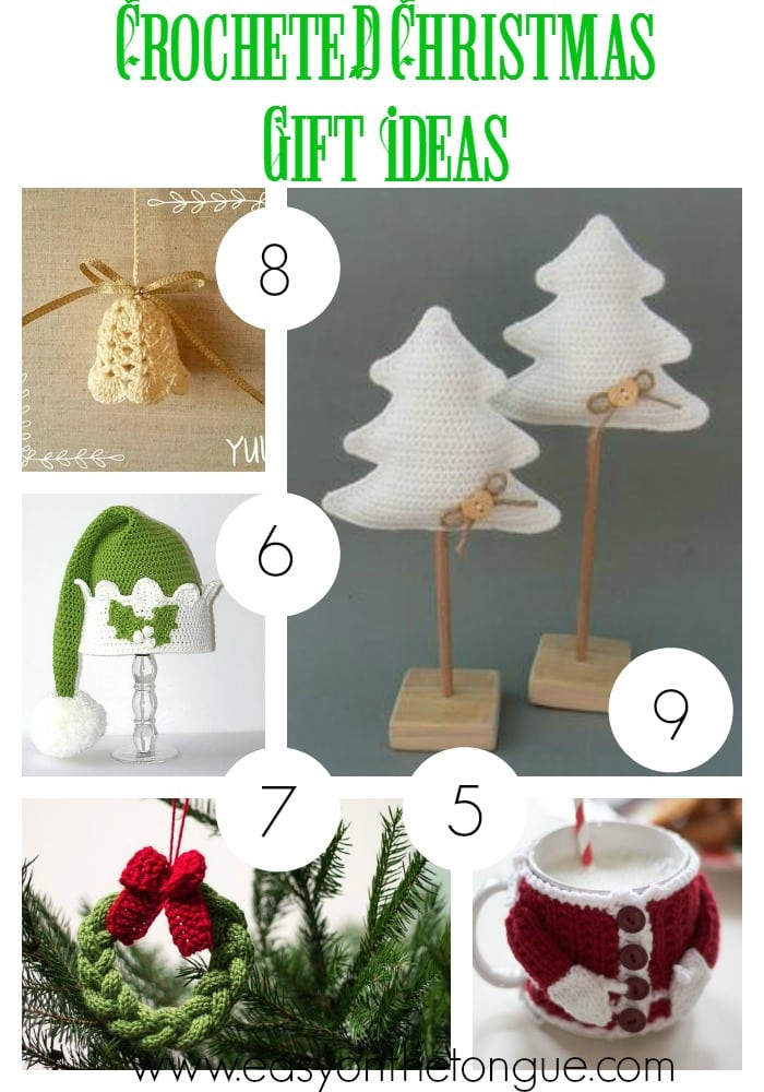 Crocheted Gift Ideas 2 Christmas Gift Ideas   Part 4