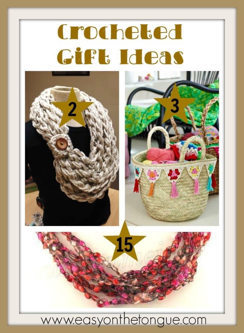Crocheted Gift Ideas 3 Christmas Gift Ideas   Part 4