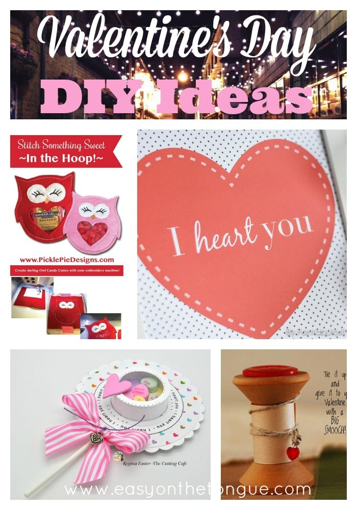 Valentines day DIY Ideas Valentine's Day – Ideas to make yourself