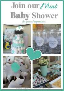 1Join our Mint baby shower for special inspirasion Pinterest Celebrate the birth of a new baby – Free Birdie Printable