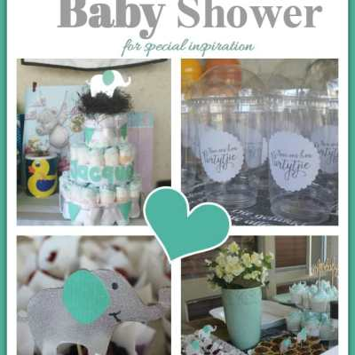 Join our 'Mint' Baby Shower for special inspiration