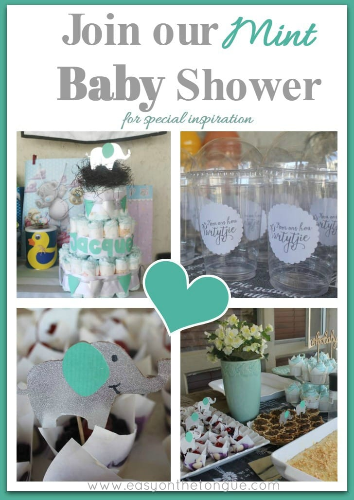 1Join our Mint baby shower for special inspirasion Pinterest Join our 'Mint' Baby Shower for special inspiration