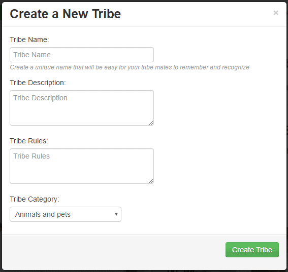 Creat a new tribe How to create a 'Tribe' in Tailwind to maximize your reach!