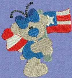 patrioticbutterflybears6 15 Sites that offer Free Embroidery Designs