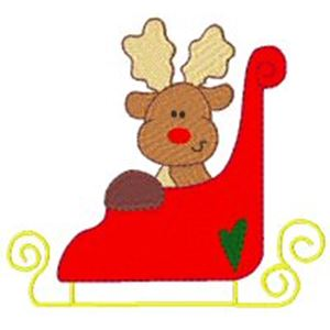 winterreindeer5 The Most Special Free and Paid Rudolph Christmas Embroidery Designs