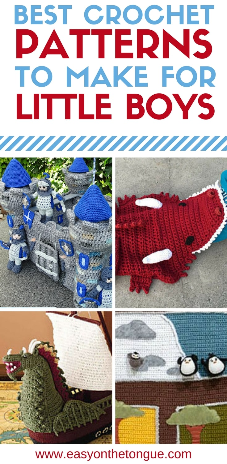 Best Crochet Patterns To Make For Baby Boys And Toddlers
